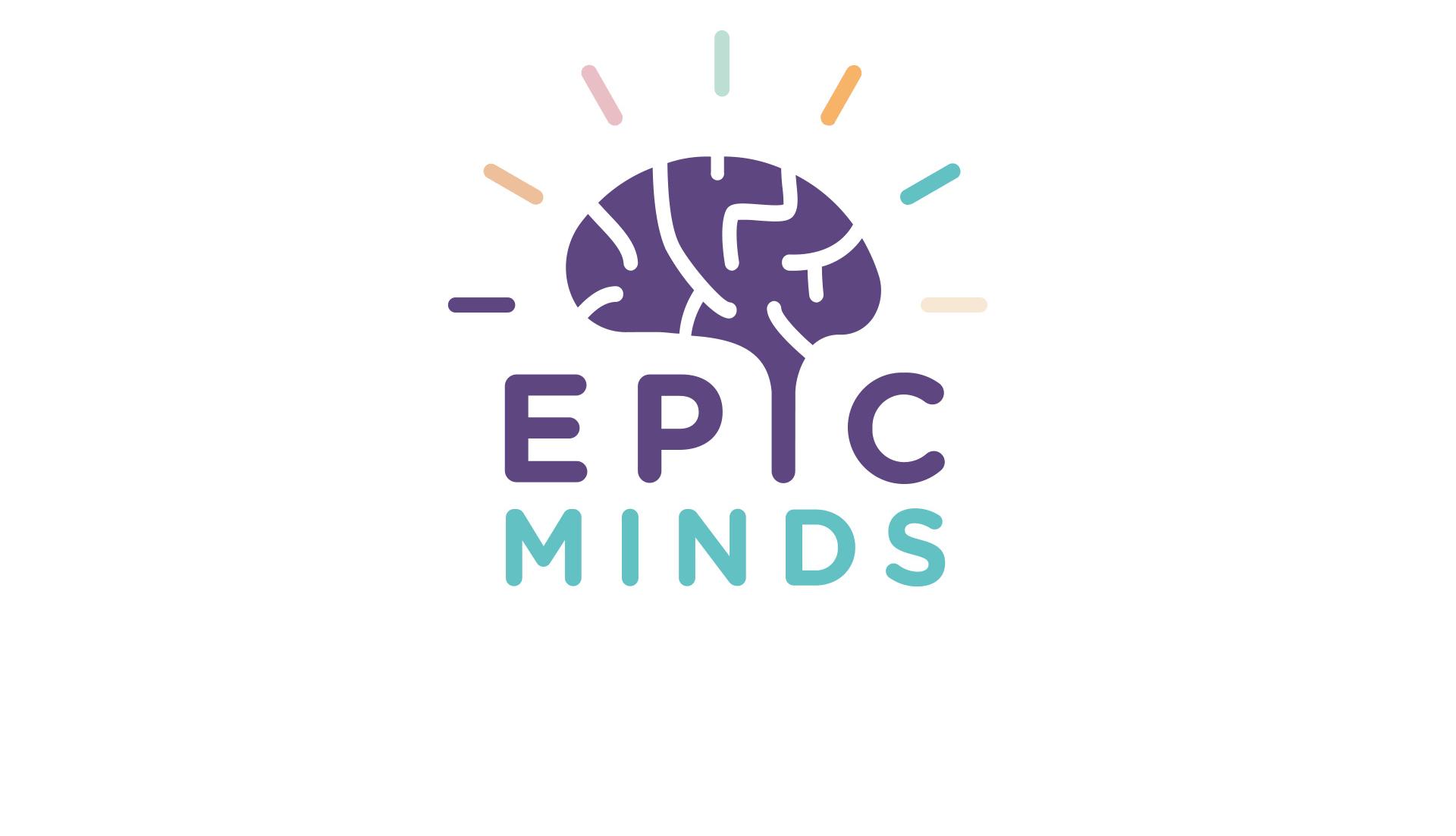 Epic Minds Logo - Mental heath awareness campaign