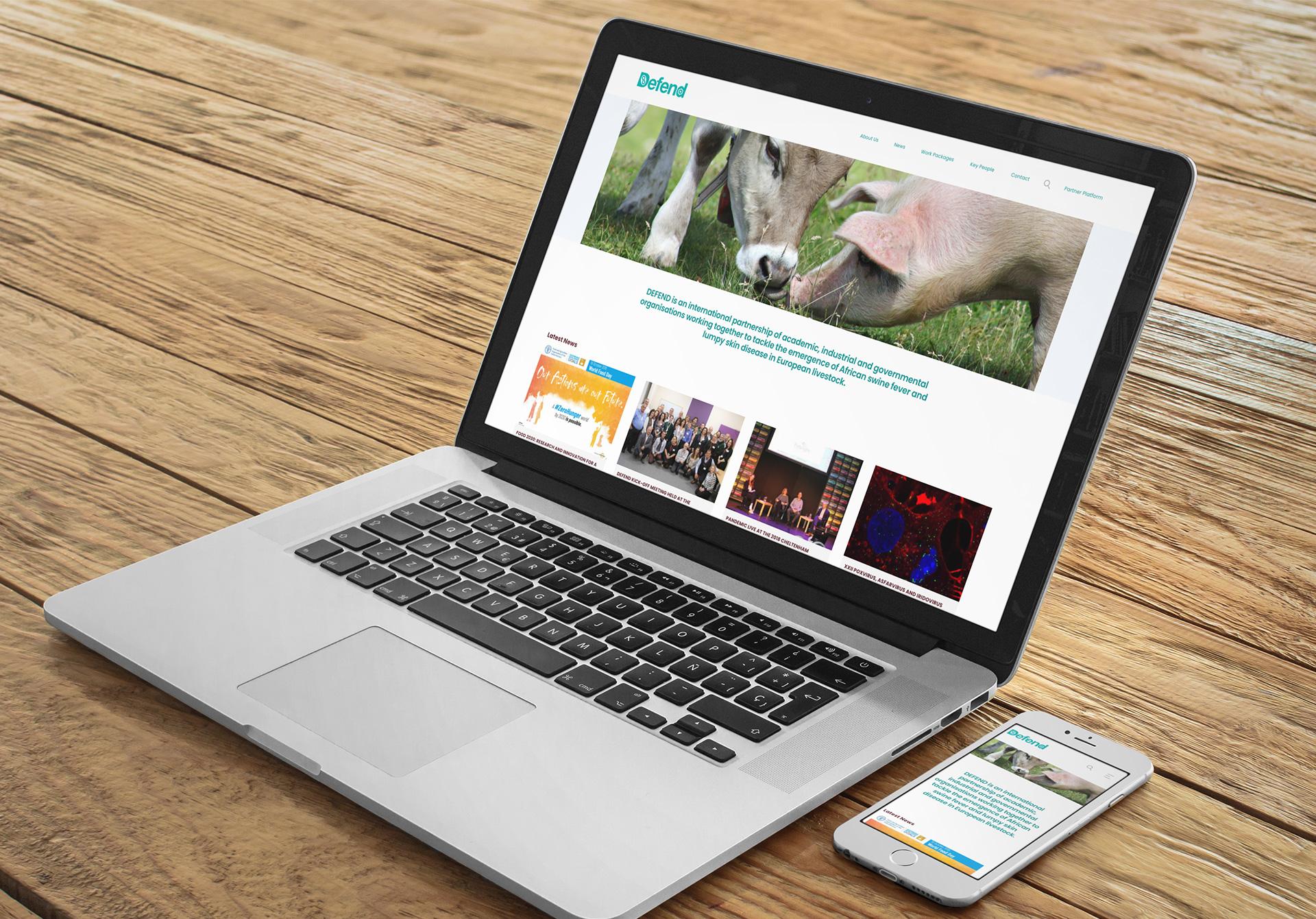 Defend 2020 WordPress Website