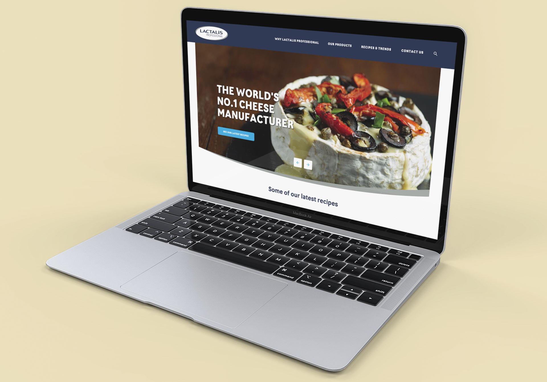 Lactalis Pro Foodservice WordPress Website