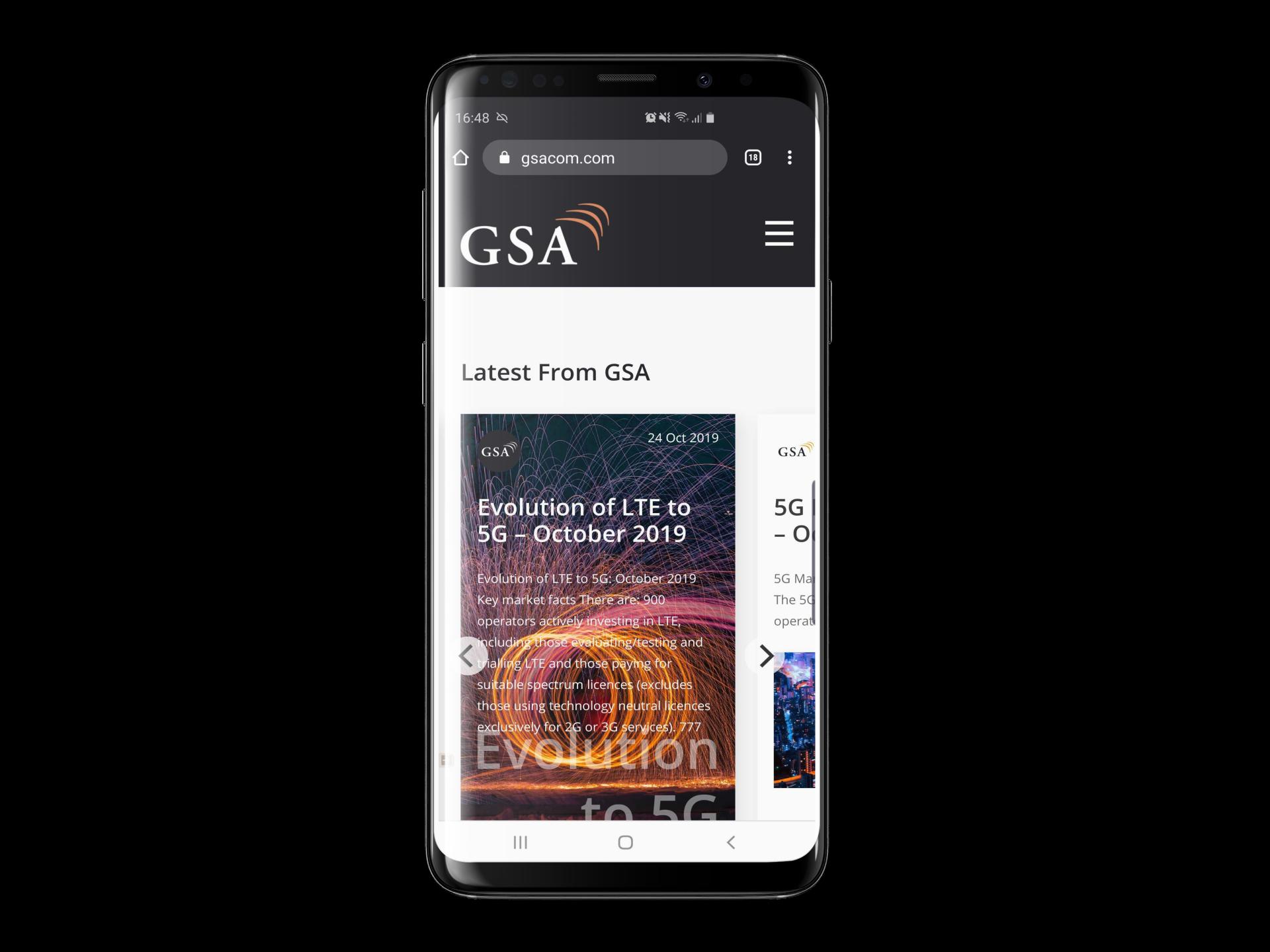 GSAcom website